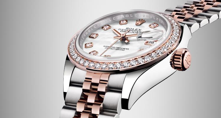 Rolex Watches Landing Page Banner